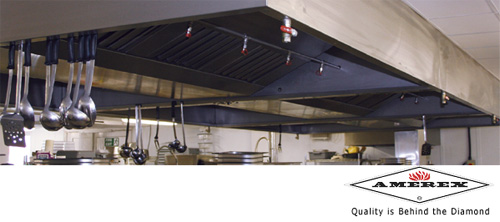 Amerex Fire Protection Suppression Systems for kitchens and restaurants