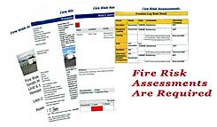 Fire Risk Assessments are a legal requiremet